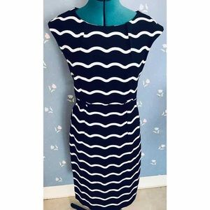 Cap Sleeve Sheath Dress